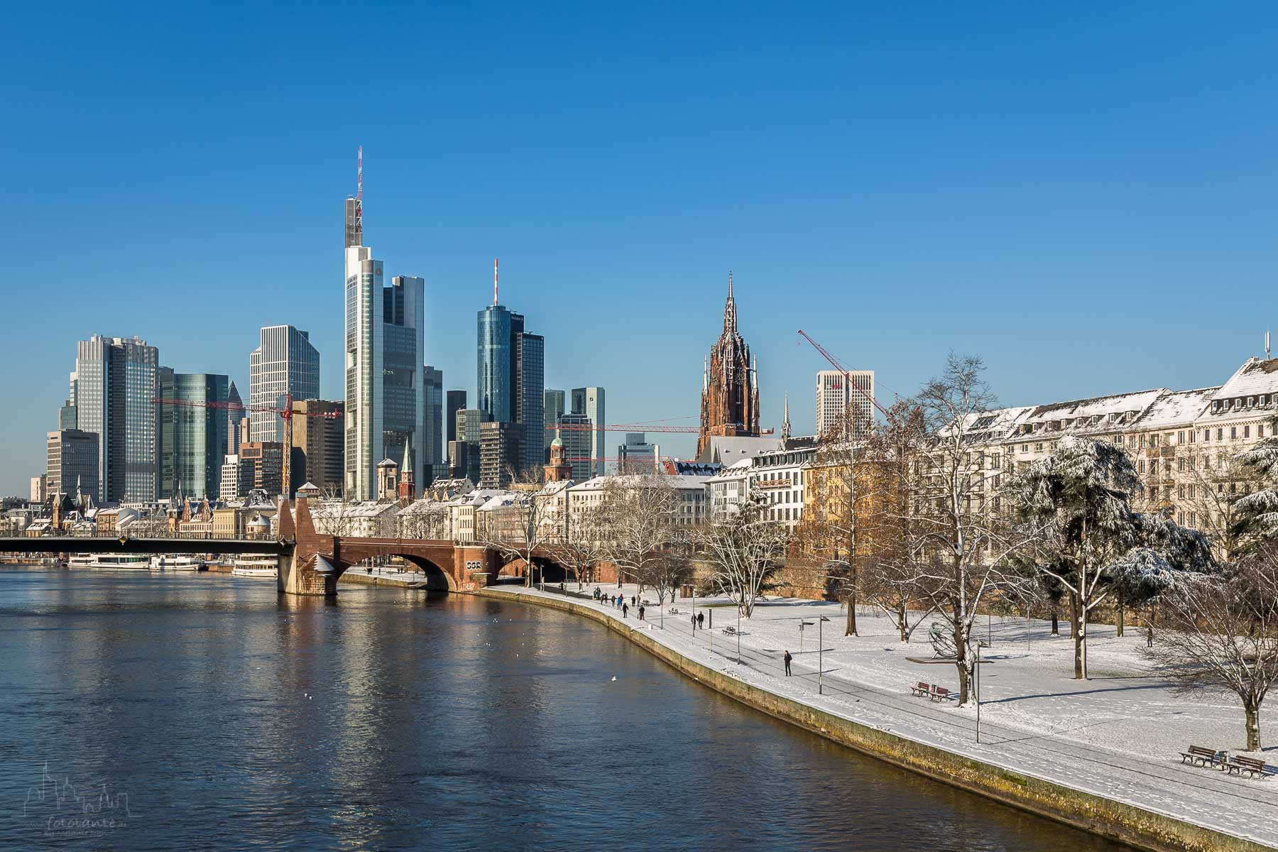 Frankfurt Schnee